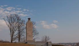 Città dominante leggera di pace di Gettysburg, Pensilvania immagini stock