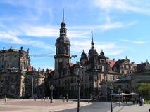 Città Dresda. Fotografie Stock Libere da Diritti