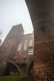 Città e castello di Kwidzyn Immagine Stock Libera da Diritti