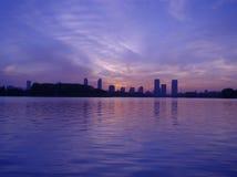 Città ecologica immagini stock