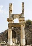 Città Ephesus del greco antico Immagini Stock Libere da Diritti