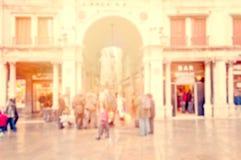 Città europea Fotografie Stock