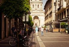 Città europee, Budapes Fotografia Stock Libera da Diritti