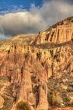 Città famosa Cappadocia in Turchia Immagini Stock Libere da Diritti
