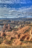 Città famosa Cappadocia in Turchia Fotografia Stock