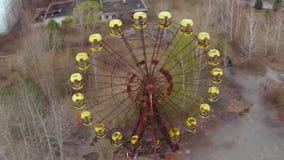 "Città fantasma del †di Pripyat ""vicino a Cernobyl stock footage"