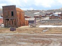 Città fantasma del Bodie Fotografia Stock Libera da Diritti