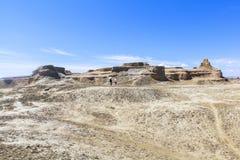 Città fantasma del mondo allo Xinjiang Immagini Stock Libere da Diritti
