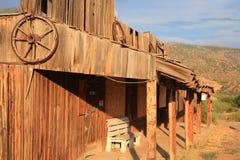 Città fantasma dell'Arizona immagini stock libere da diritti