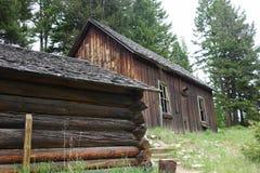 Città fantasma - Garnet Montana Fotografie Stock