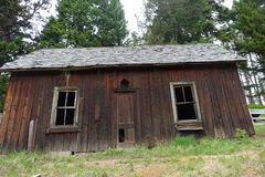 Città fantasma - Garnet Montana Fotografie Stock Libere da Diritti
