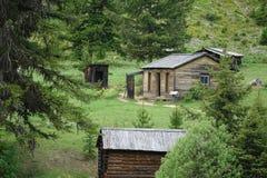 Città fantasma - Garnet Montana Fotografia Stock