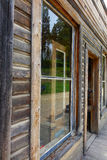 Città fantasma - Garnet Montana Immagini Stock