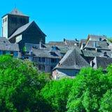 Città francese Fotografia Stock