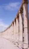Città greco-romana di Gerasa Immagini Stock