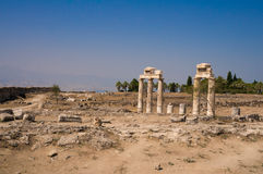 Città greco-romana e bizantino Immagini Stock Libere da Diritti
