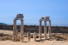 Città greco-romana e bizantino Immagine Stock Libera da Diritti