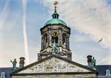 Città Hall Amsterdam Holland Netherlands di Royal Palace fotografia stock