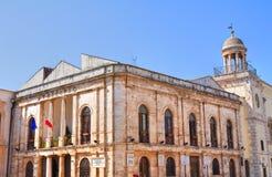 Città Hall Building. Conversano. La Puglia. L'Italia. Immagini Stock Libere da Diritti
