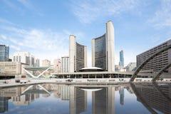 Città Hall Canada di Toronto Fotografie Stock