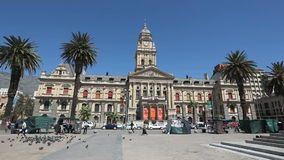 Città Hall Capetown video d archivio