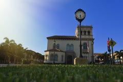 Città Hall Palm Beach fotografie stock libere da diritti