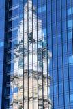 Città Hall Reflection Fotografia Stock
