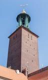 Città Hall Stockholm Sweden Fotografie Stock Libere da Diritti