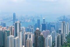 Città Hong Kong Immagini Stock Libere da Diritti