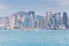Città Hong Kong Fotografie Stock Libere da Diritti