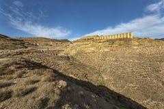 città Ibero-romana Bilbilis Immagine Stock Libera da Diritti