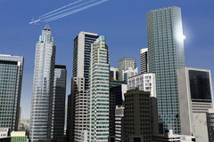 Città immaginaria 21 Immagine Stock Libera da Diritti