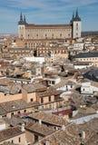 Città imperiale di Toledo spain Immagini Stock Libere da Diritti