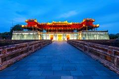 Città imperiale nella tonalità, Vietnam fotografia stock libera da diritti