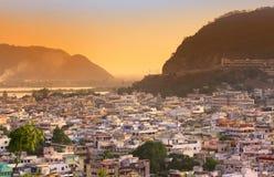 Città indiana del sud Immagini Stock Libere da Diritti