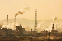 Città industriale Fotografia Stock Libera da Diritti