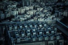 Città industriale Fotografia Stock