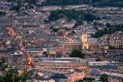 Città Inghilterra Regno Unito Europa del bagno fotografie stock libere da diritti