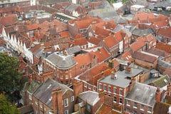 Città inglese Fotografia Stock