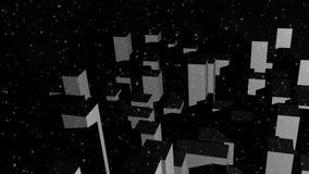 Città innevata illustrazione vettoriale