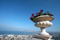Città Israele di Haifa Fotografia Stock Libera da Diritti