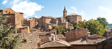 Città italiana Immagini Stock Libere da Diritti