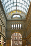 Città italiana Napoli, Galleria Umberto Fotografie Stock Libere da Diritti