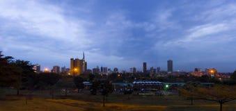 Città Kenia di Nairobi Fotografia Stock