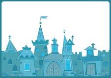 Città leggiadramente illustrazione vettoriale