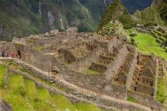 Città Machu Picchu (Perù) di inca immagine stock