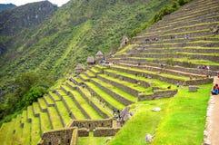 Città Machu Picchu (Perù) di inca immagini stock