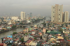 Città Manila di Filippine Fotografie Stock