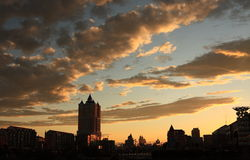 Città manzhouli Fotografia Stock