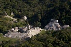 Città maya Fotografia Stock Libera da Diritti